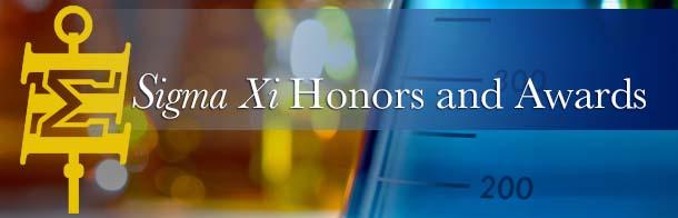 Sigma Xi Awards